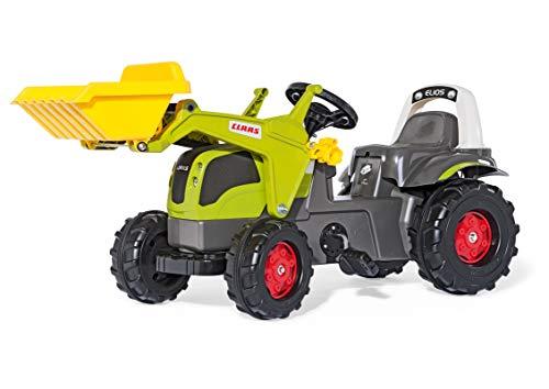 Rolly Toys S2602507 rollyKid CLAAS Elios Trettraktor (für Kinder von 2,5 bis 5 Jahre, mit Frontlader,...