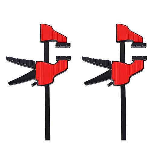 Schraubzwinge Set,10KG Klemme Einhandzwinge Schraubzwingen Klemmzwingen für Holzbearbeitung und...