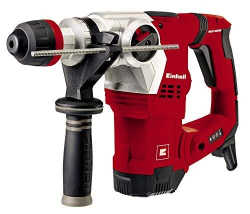 Einhell Bohrhammer TE-RH 32 E (1250 W, 5 J, Bohrleistung Ø 32 mm, SDS-Plus-Aufnahme, Metall-Tiefenanschlag,...