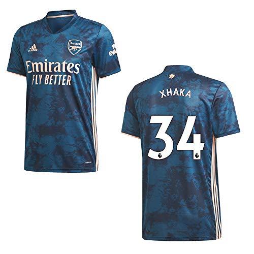 adidas FC Arsenal Trikot 3rd Herren 2021- XHAKA 34, Größe:XL