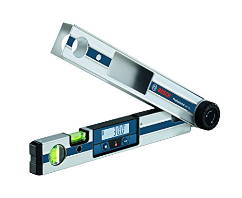 Bosch Professional Digitales Winkelmessgerät GAM 220 (schenkellänge: 0 - 220º, Länge: 40 cm)