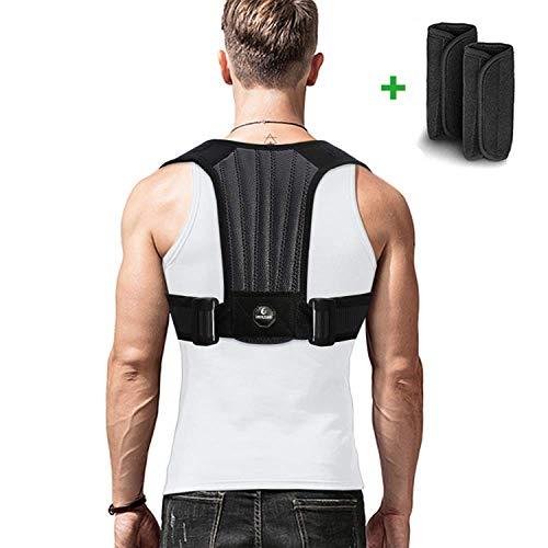 imrusan Geradehalter zur Haltungskorrektur Rückenstütze, Gerade Rücken Rückenbandage Verstellbare, Posture...