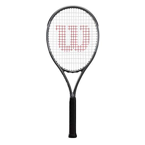 Wilson Tennisschläger Pro Staff Precision Team 100, Freizeitspieler, Fiberglas/Aluminium, anthrazit,...
