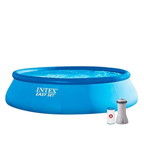 Intex Aufstellpool Easy Set Pools®, Blau, Ø 457 x 107 cm
