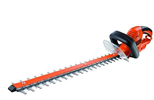 Black+Decker Elektrische Heckenschere GT5560 mit Kabelzugentlastung und Direktanschluss des...