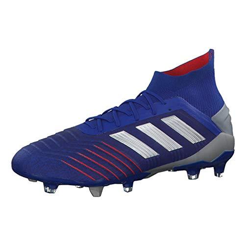 adidas Herren Predator 19.1 Fg Fußballschuhe, Mehrfarbig (Azufue/Plamet/Fooblu 000), 40 2/3 EU