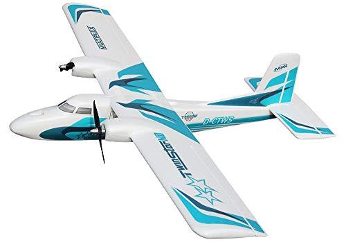 Multiplex TwinStar ND RC Motorflugmodell Bausatz 1420 mm