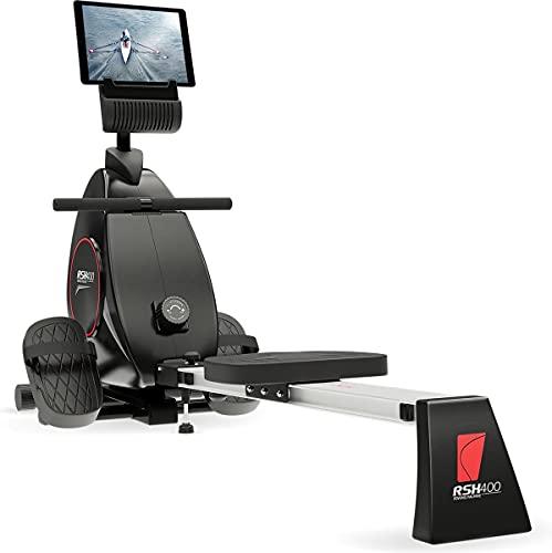Sportstech RSX400 Rudergerät | Deutsches Qualitätsunternehmen | Video Events & Multiplayer App inkl....