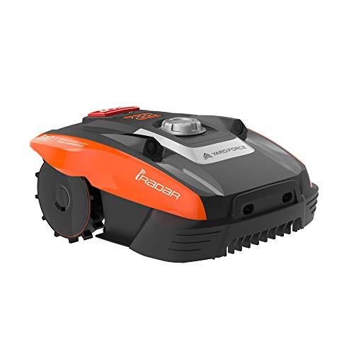 Yard Force Mähroboter COMPACT 400Ri bis zu 400 qm - Selbstfahrender Rasenmäher Roboter mit WLAN-Verbindung,...