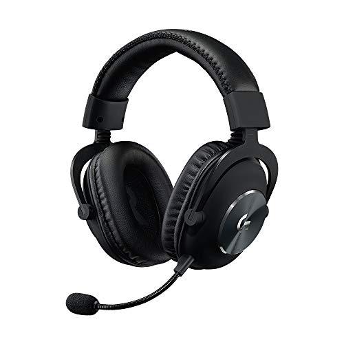 Logitech G PRO Gaming-Headset, Over-Ear Kopfhörer mit PRO-G 50-mm-Lautsprechern, Aluminium, Stahl und Memory...