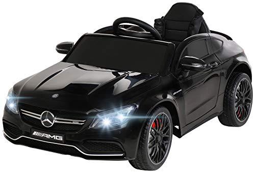 Actionbikes Motors Spielzeug Elektroauto Mercedes Benz C63 - Lizenziert - Ledersitz - Rc Fernbedienung -...