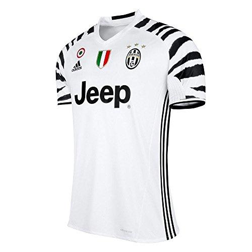 adidas Herren Juventus Turin Trikot, White/Black, M