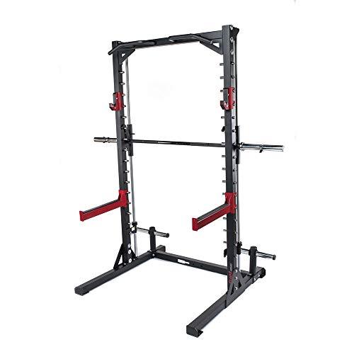 Fuel Fitness Smith Machine Multipresse HR500 mit Klimmzugstange, Multipresse Squat Rack mit geführter...
