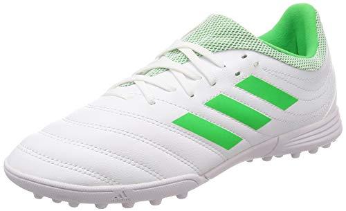 adidas Unisex Copa 19.3 Tf J Fitnessschuhe, Mehrfarbig (Ftwbla/Limsol/Ftwbla 000), 37 1/3 EU