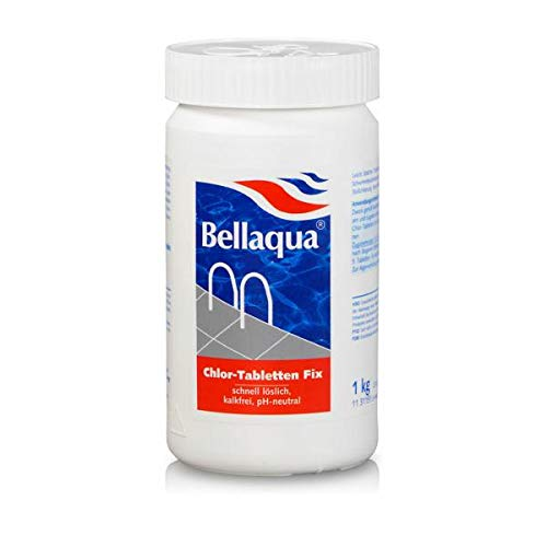 Pool Schwimmbad Chlor Tabletten 20g Fix 1Kg Bellaqua Wasser Desinfektion 700