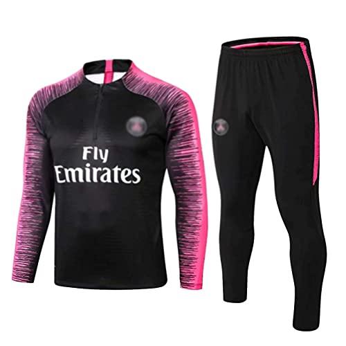 LIUHUAN Pariser Trikot Herren PSG Langarm Sportbekleidung, Trainings Anzug Fußball Sweatshirt für Männer...