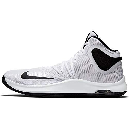 Nike Unisex-Erwachsene Air Versitile Iv Basketballschuhe, Weiß (White/Black 100), 44 EU