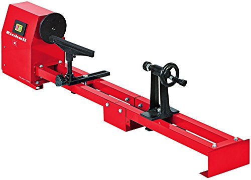 Einhell Drechselbank TC-WW 1000 (350 W, Drechsel-Ø 356 mm, Spitzenweite 100 cm, Werkzeugauflage, stabiler...