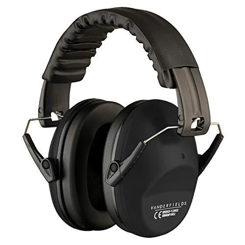 Vanderfields Gehörschutz für Erwachsene - Leicht Faltbar und Komfortable Gehörschutz - Kapselgehörschutz...