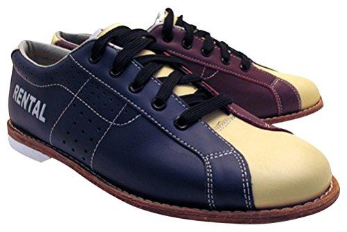 Bowlerstore Herren BSSTCLARENTPLUSM1S08 Classic Plus Bowlingschuhe (10 M US, blau/rot/cremefarben)