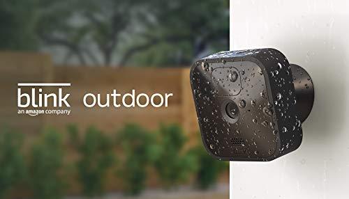 Blink Outdoor – kabellose, witterungsbeständige HD-Sicherheitskamera mit zwei Jahren Batterielaufzeit und...