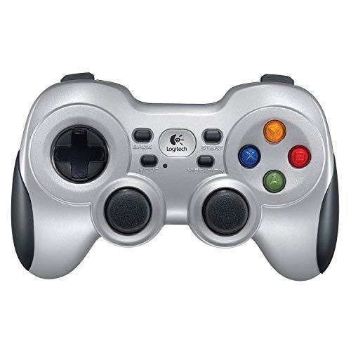 Logitech F710 kabelloses Gamepad, Spiele-Controller mit Konsolenartigem Layout, 4 Tasten D-Pad, Komfortable...