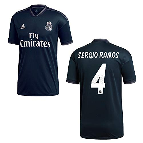 adidas REAL Madrid Trikot Away Herren 2019 - Sergio Ramos 4, Größe:XXL