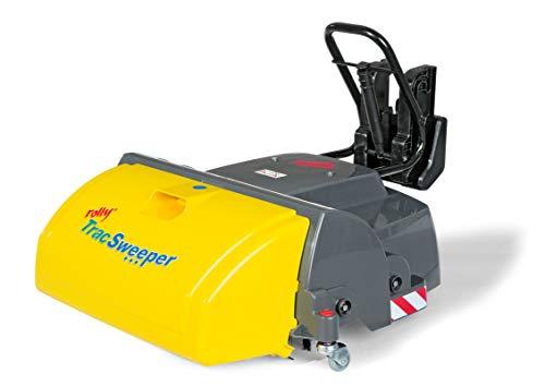 Rolly Toys rollyTrac Sweeper Anbaukehrmaschine (für RollyToys Fahrzeuge mit Frontanhängekupplung,...