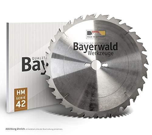 Bayerwald - HM Kreissägeblatt - Ø 700 mm x 4,2 mm x 30 mm   Wechselzahn (42 Zähne)   grobe, schnelle...