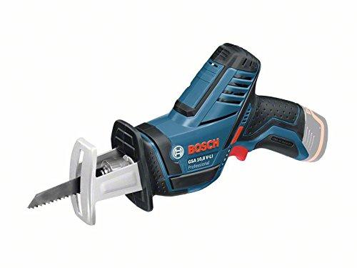 Bosch Professional 12V System Akku Säbelsäge GSA 12V-14 (Schnitttiefe Holz/Metallprofile: 65/50 mm, inkl. 2...
