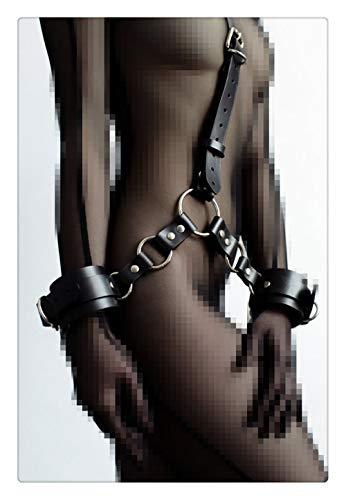 Punk Leder Body Brustgurte Taille Harness Straps Einstellbar Für Damen