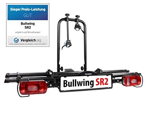 Bullwing SR2 - Fahrradträger für 2 Fahrräder auf die Auto Anhängerkupplung abklappbar...