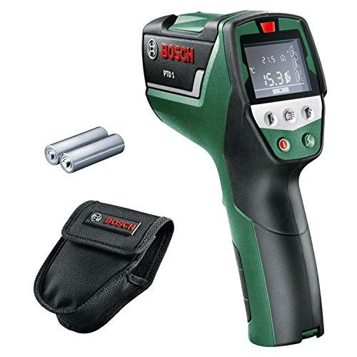 Bosch Infrarot Thermometer PTD 1 (2x AA Batterien, in Schutztasche)