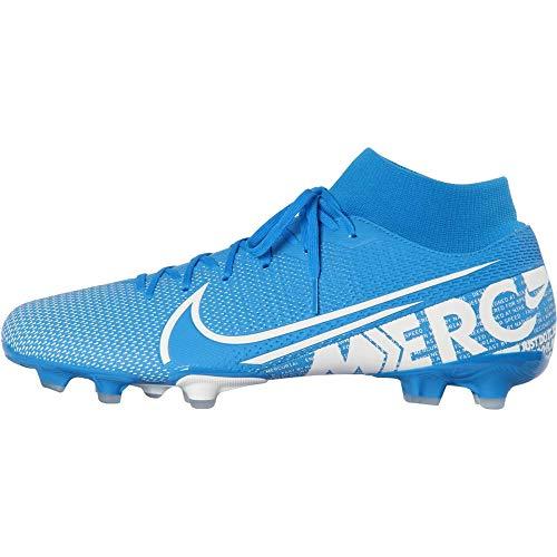 Nike Herren Superfly 7 Academy FG/MG Fußballschuh, Blue Hero/White-Obsidian, 43 EU