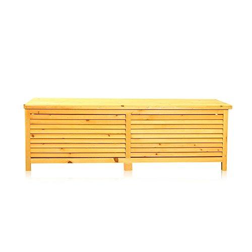 Auflagenbox aus Holz von Melko