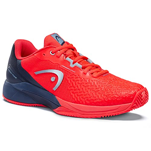 HEAD Herren Revolt Pro 3.5 Clay Men NRDB Tennis Shoe, rot/blau, 43 EU