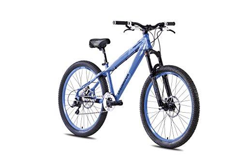 26' Alu Dirt Bike LEADER FOX Dragstar Fahrrad MTB Scheibenbremsen blau