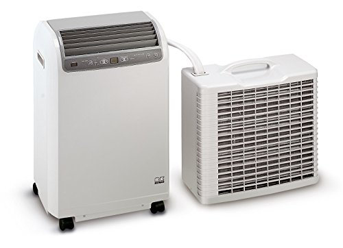 Remko Split Klimagerät RKL 491 DC, mobile und effiziente Klimaanlage, Einsatzbereich 120 qm, hohe...