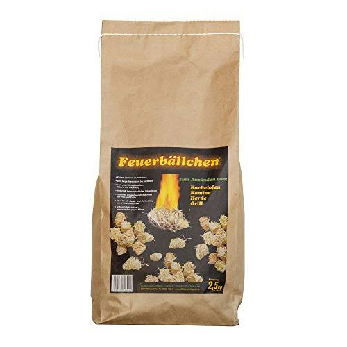 Feuerbällchen - Kaminanzünder, Feueranzünder, Feuerbällchen (Anzünder ökologisch, aus Naturprodukten -...