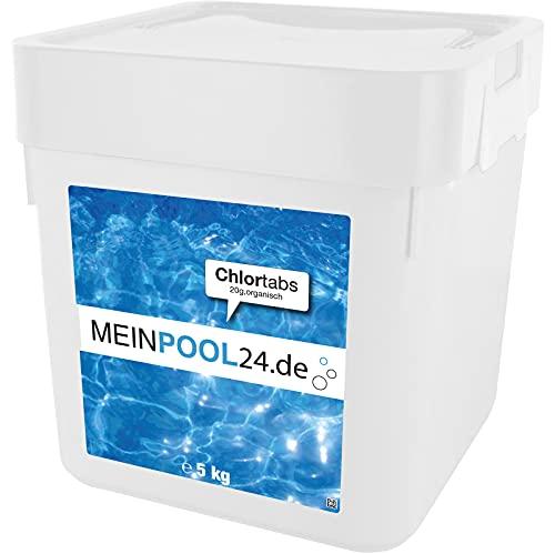 5 kg Chlortabs 20 g für den Swimmingpool Marke Meinpool24.de