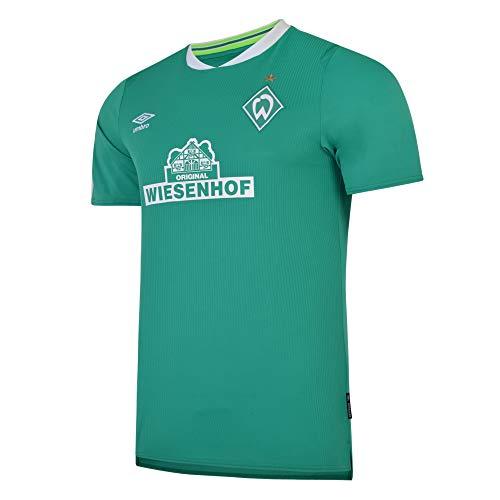 UMBRO SV Werder Bremen Trikot Home 2019/2020 Herren grn/wei, S