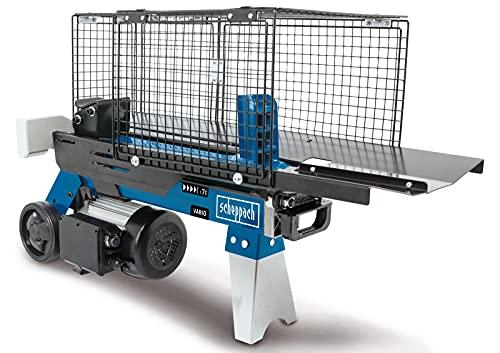 scheppach Holzspalter HL760L liegend Brennholzspalter Hydraulikspalter elektrisch 230V | Spaltkraft 7 Tonnen |...