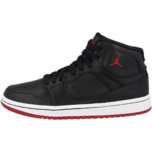 Nike Herren Jordan Access Basketballschuhe, Mehrfarbig (Black/Gym Red-White 001), 46 EU