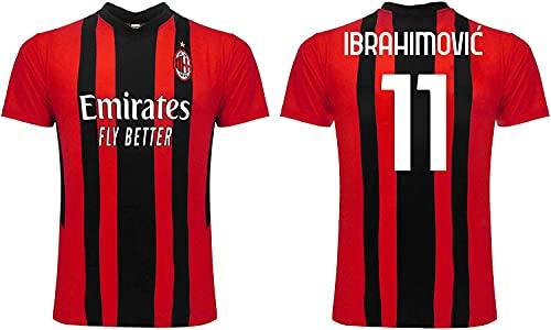 3R SPORT SRL Ibrahimovic Milan 2022 Offizielles Trikot für Erwachsene, Jungen und Kinder, Replikat 2021 2022,...