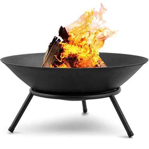 Amagabeli Feuerschalen für den Garten 57cm Feuerschalen & Feuerkörbe mit Stativ für Feuerstelle für...