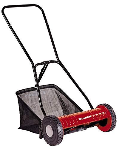 Einhell Hand-Rasenmäher GC-HM 40 (für bis zu 250 m², Mähspindel mit 5 Stahlmessern, 4-stufige...