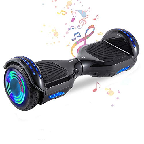 HappyBoard 6,5 Hoverboard mit 350W*2 Motorbeleuchtung RGB LED-Leuchten, Bluetooth-Lautsprecher, Self Balance...