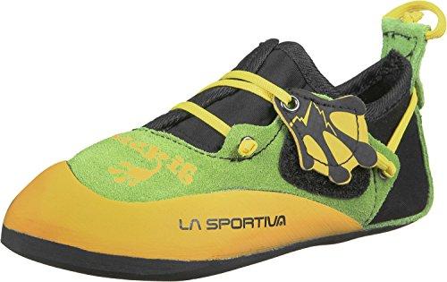 LA SPORTIVA Stickit Kinderkletterschuhe Yellow/Green/Black