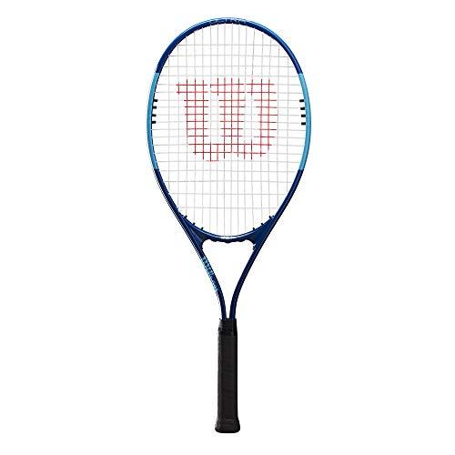 Wilson Tennisschläger Ultra Power XL 112, Freizeitspieler, AirLite-Legierung, Blau, WR055310U2