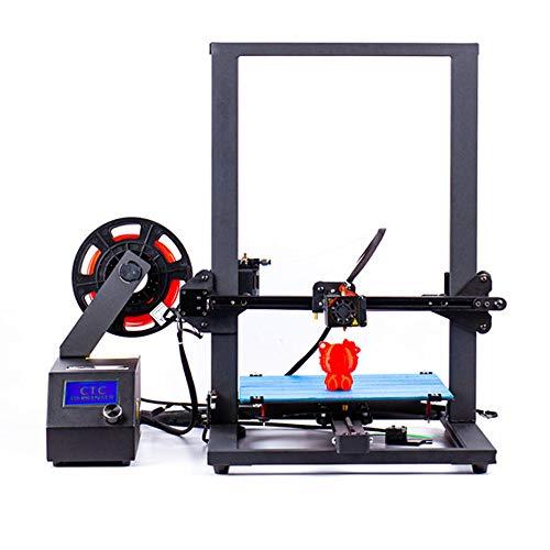 GUCOCO Neueste CTC 3D Drucker A10S Groß Aluminium RahmenHohe Genauigkeit mit beheiztem Bett Druck...